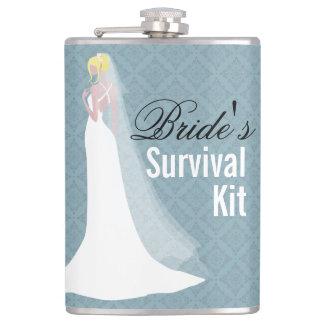 Beautiful Bride Survival Kit Flask