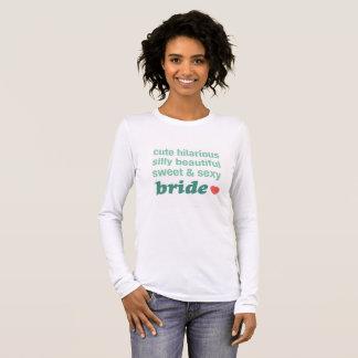 beautiful bride to be shirt