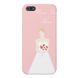 Beautiful Bride Wedding Cover For iPhone 5/5S