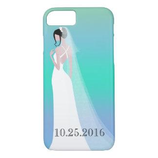 Beautiful Bride Wedding Day iPhone 8/7 Case