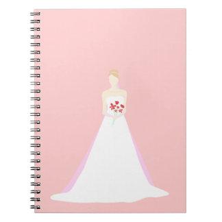 Beautiful Bride Wedding Notebook