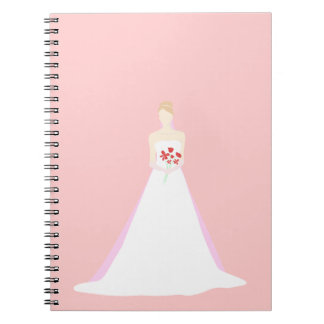 Beautiful Bride Wedding Notebooks