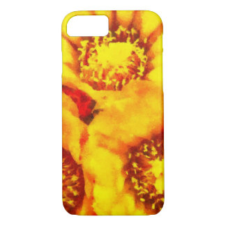 Beautiful bright yellow flowers iPhone 8/7 case