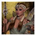 Beautiful Brown Elf Poster