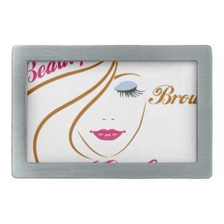 beautiful brown girl belt buckle
