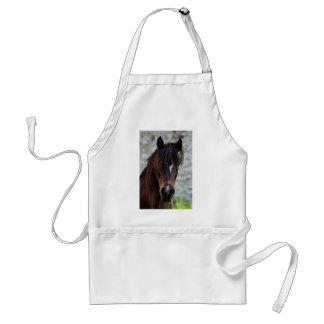Beautiful Brown Horse Apron