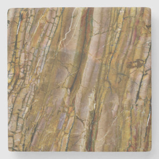 Beautiful Browns Colored Stone Coaster