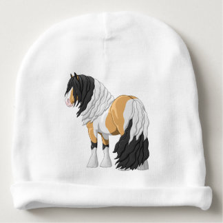 Beautiful Buckskin Pinto Gypsy Vanner Draft Horse Baby Beanie