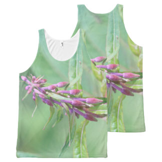 Beautiful Buds All-Over Print Singlet