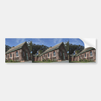 Beautiful Building With Covered Wall From Plants Bumper Sticker