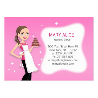Beautiful Business Card for Bakery, Cooks, Chefs..