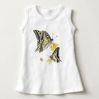 Beautiful Butterflies and Flowers Dress