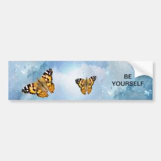 Beautiful Butterflies Bumper Stickers