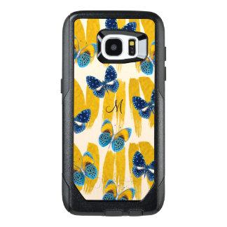 Beautiful Butterflies on Gold Paint OtterBox Case
