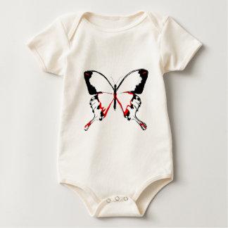BEAUTIFUL BUTTERFLY BABY BODYSUIT