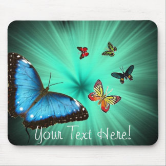 Beautiful Butterfly Journey Mouse Pad
