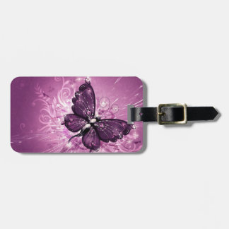 Beautiful Butterfly Luggage Tag