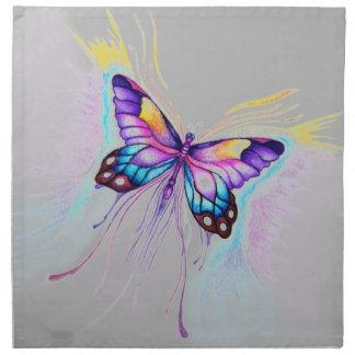 Beautiful Butterfly Napkin