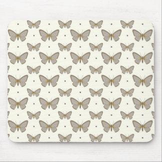 Beautiful Butterfly Pattern Mouse Pad