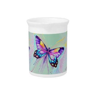 Beautiful Butterfly Pitcher