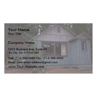 Beautiful Cabin Near Lake Idaho Business Cards
