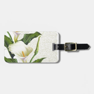 Beautiful Calla Lilies Luggage Tag