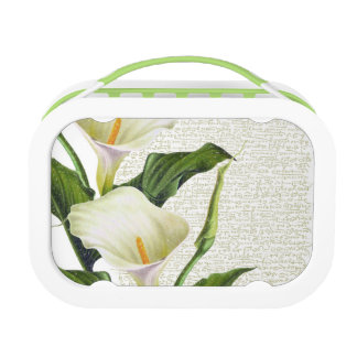 Beautiful Calla Lilies Lunch Box
