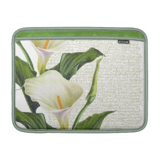 Beautiful Calla Lilies MacBook Sleeves