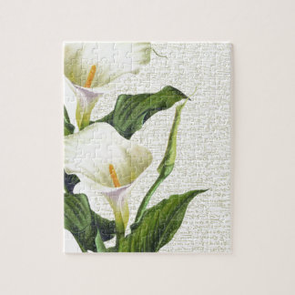 Beautiful Calla Lilies Puzzles