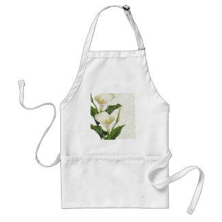 Beautiful Calla Lilies Standard Apron