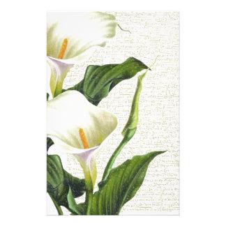 Beautiful Calla Lilies Stationery