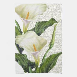 Beautiful Calla Lilies Tea Towel