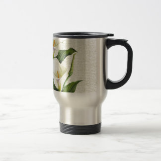 Beautiful Calla Lilies Travel Mug