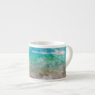 Beautiful Cancun Beach Espresso Cup