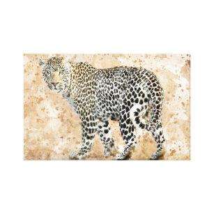Beautiful Canvas Print - Leopard