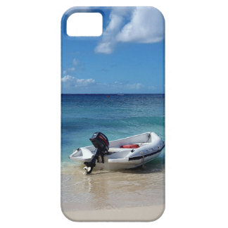 Beautiful Caribbean Beachscape Boat Photography Case For The iPhone 5