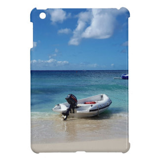 Beautiful Caribbean Beachscape Boat Photography iPad Mini Cover