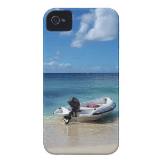 Beautiful Caribbean Beachscape Boat Photography iPhone 4 Case