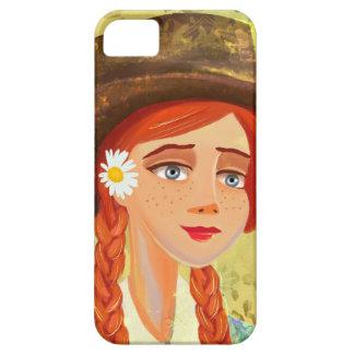 beautiful cartoon girl iPhone 4/4S Cases