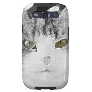 BEAUTIFUL CAT GALAXY S3 COVER