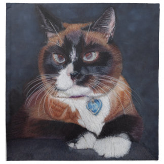 Beautiful Cat Napkin
