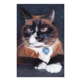 Beautiful Cat Stationery Paper