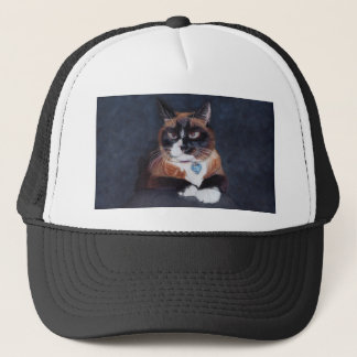 Beautiful Cat Trucker Hat