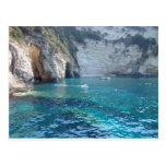 beautiful caves in Greece Postcards