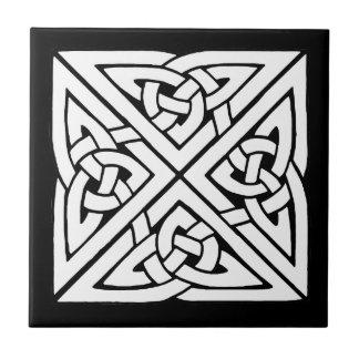 Beautiful Celtic Knot Art Design Small Square Tile