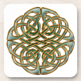 Beautiful celtic knot coaster