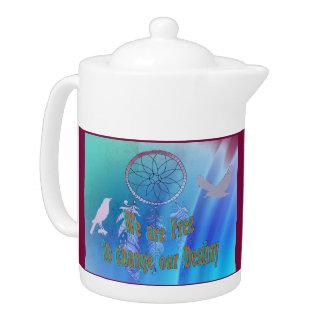 Beautiful Change Destiny Tea Pot