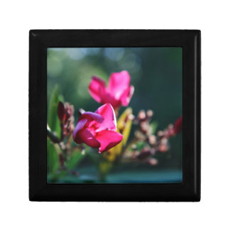 Beautiful Cherry Blossom Design Small Square Gift Box