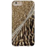 Beautiful chic girly leopard animal faux fur print