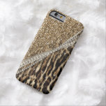 Beautiful chic girly leopard animal faux fur print